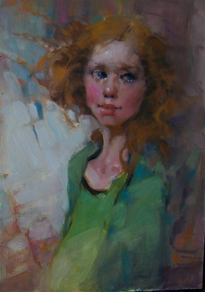 """Age of Innocent"" original fine art by Kim Roberti"