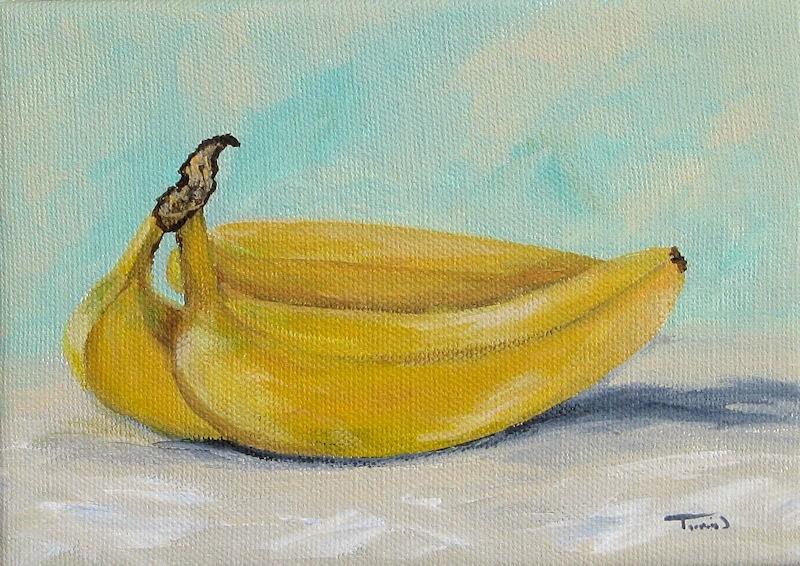 """""""Bananas III"""" original fine art by Torrie Smiley"""