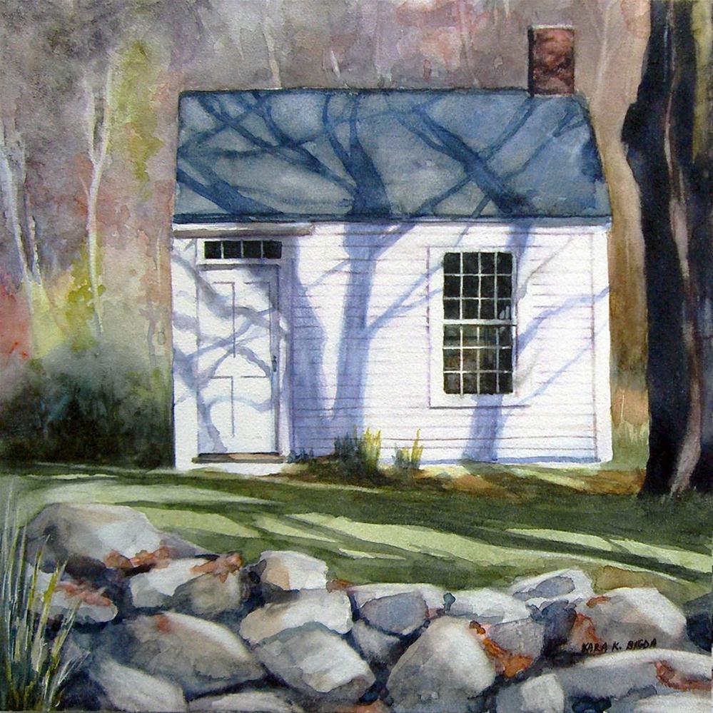 """""""Autumn Studio"""" original fine art by Kara K. Bigda"""
