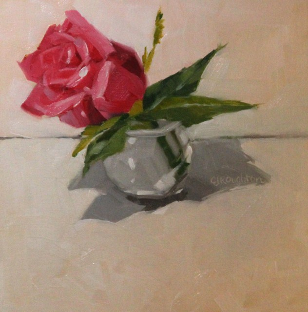 """""""Mother's Count Roses"""" original fine art by C J Roughton"""