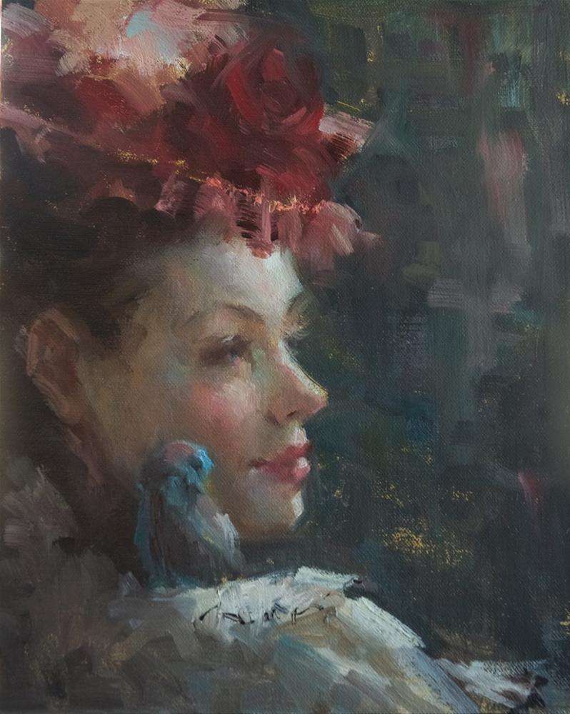 """A Friend on the Journey"" original fine art by Johanna Spinks"