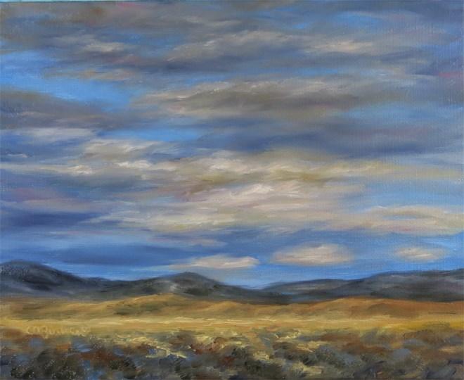 """""""Golden Grasses"""" original fine art by Carol Zirkle"""
