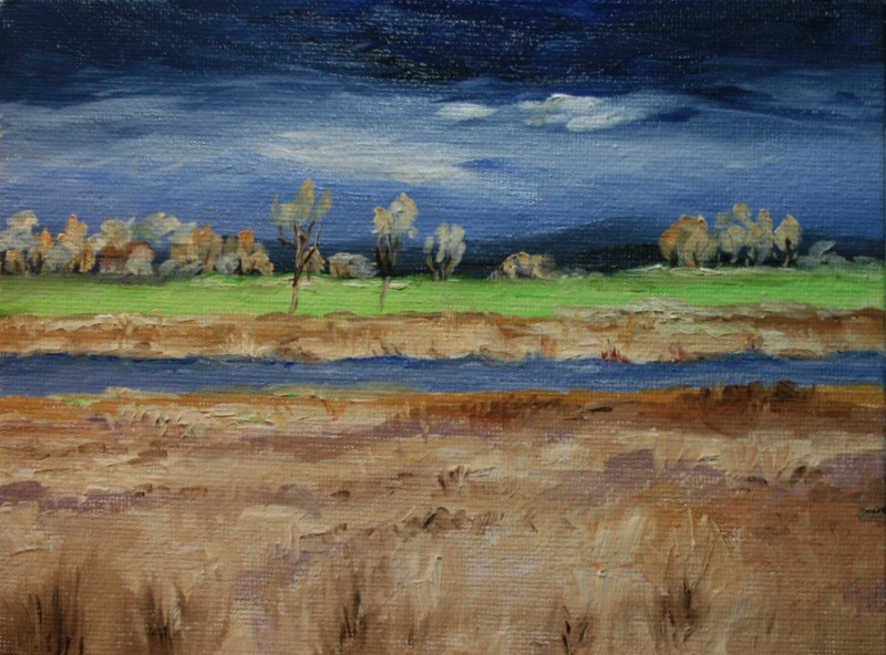 """""""After the Storm"""" original fine art by Jean Nelson"""