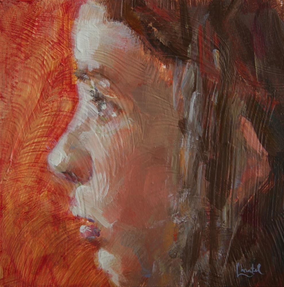 """Determined"" original fine art by Chantel Barber"
