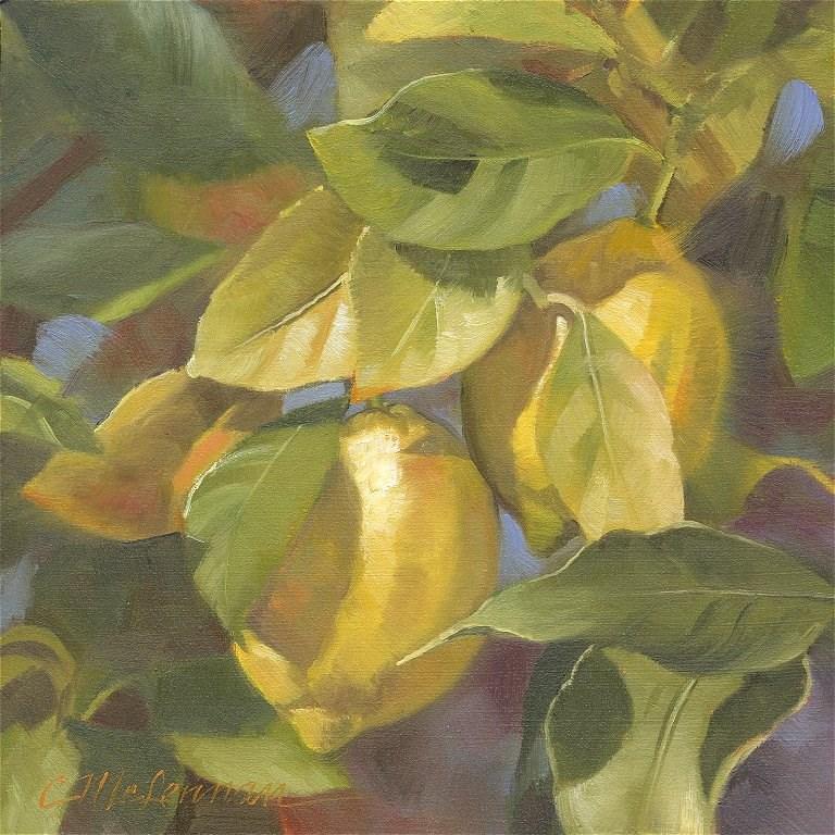 """Hidden Gems"" original fine art by Connie McLennan"