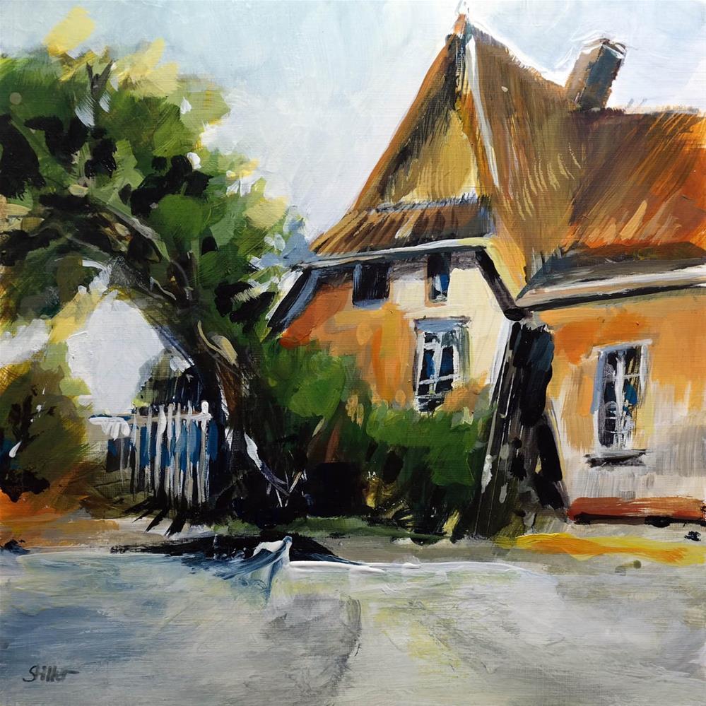 """""""3345 Ahrnshoop"""" original fine art by Dietmar Stiller"""