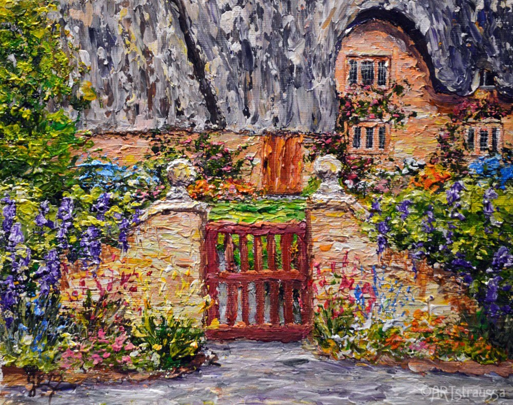 """Cotswold"" original fine art by Gloria Ester"