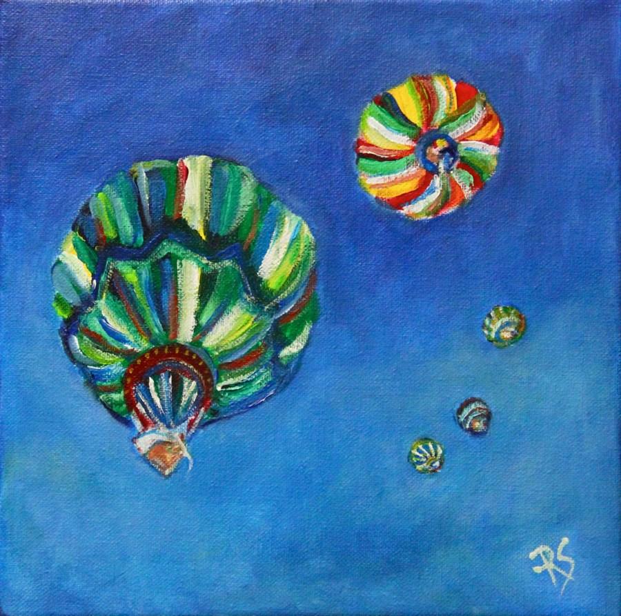 """""""Looking Up"""" original fine art by Roberta Schmidt"""