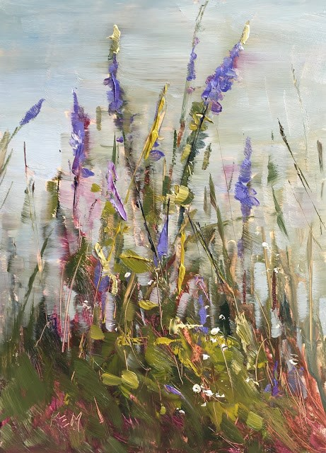 """""""How to Have a Successful Plein Air Experience"""" original fine art by Karen Margulis"""