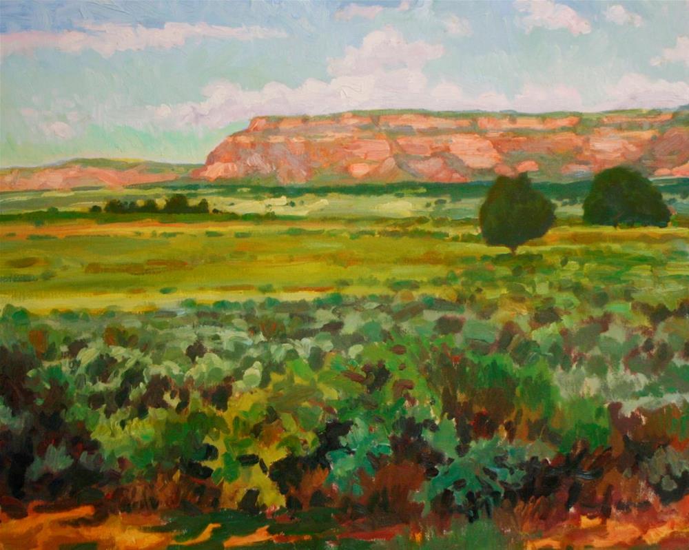 """Red Rock Magestic"" original fine art by K.R. McCain"