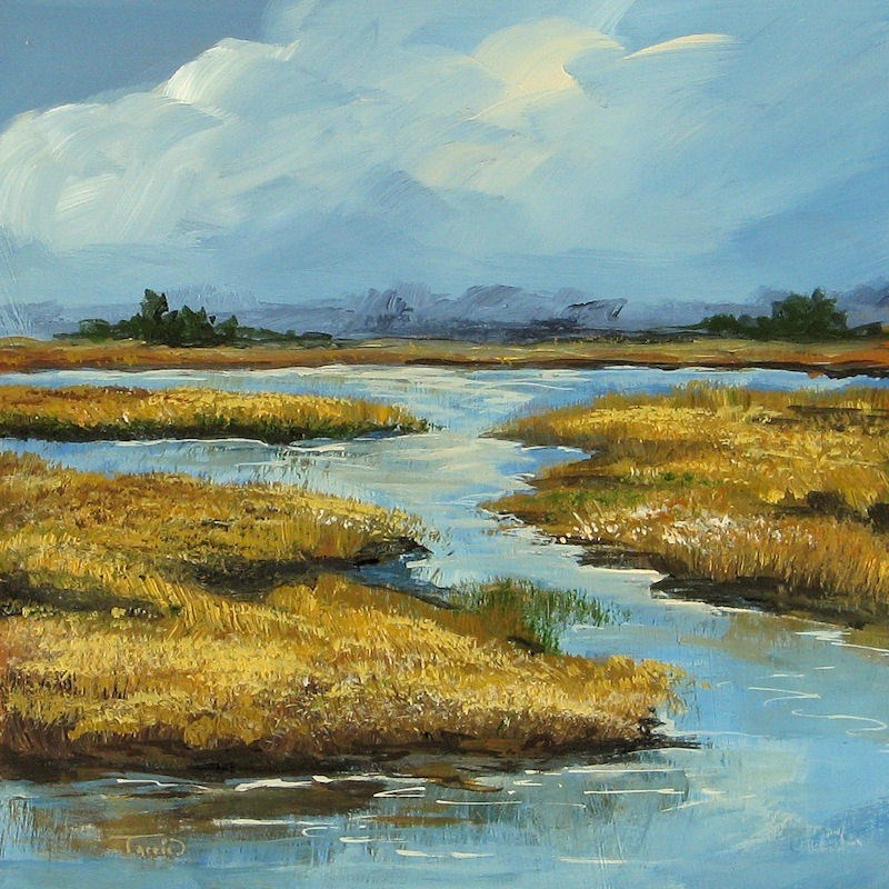 """The Low Country"" original fine art by Torrie Smiley"