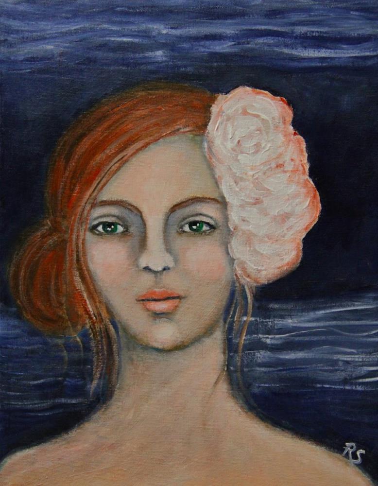 """At The Midnight Hour"" original fine art by Roberta Schmidt ArtcyLucy"