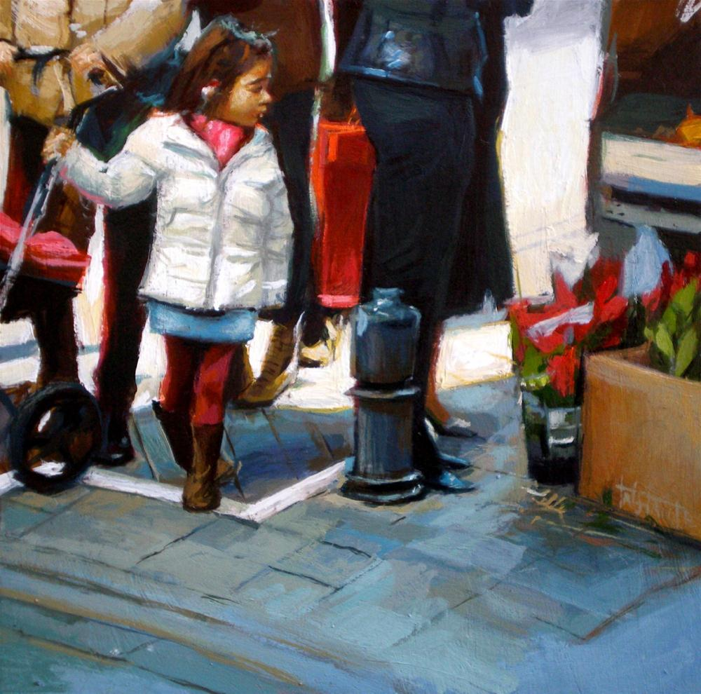 """White coat"" original fine art by Víctor Tristante"