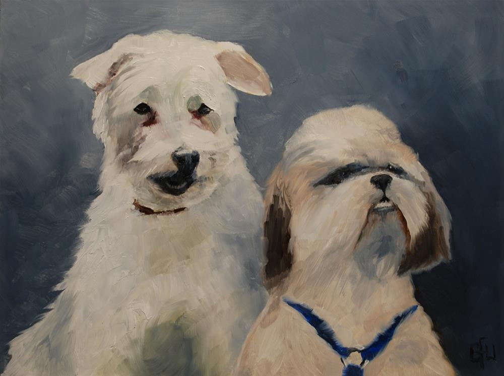 """Tay Ling and Shadow"" original fine art by Gary Westlake"
