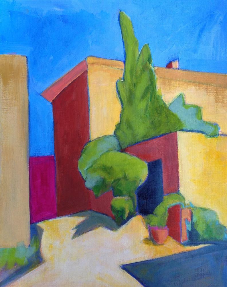 """Rustrel Fauvism"" original fine art by Patricia MacDonald"