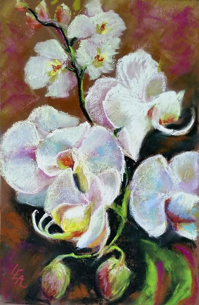 """""""Cascade"""" original fine art by Anna Lisa Leal"""