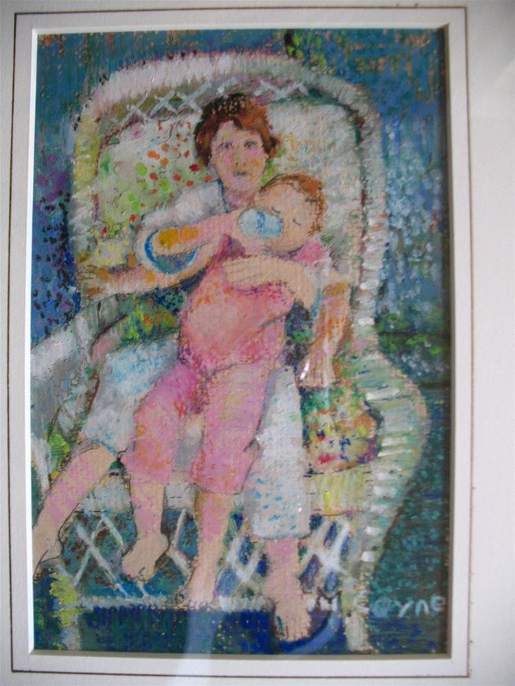 """cousins"" original fine art by meribeth coyne"