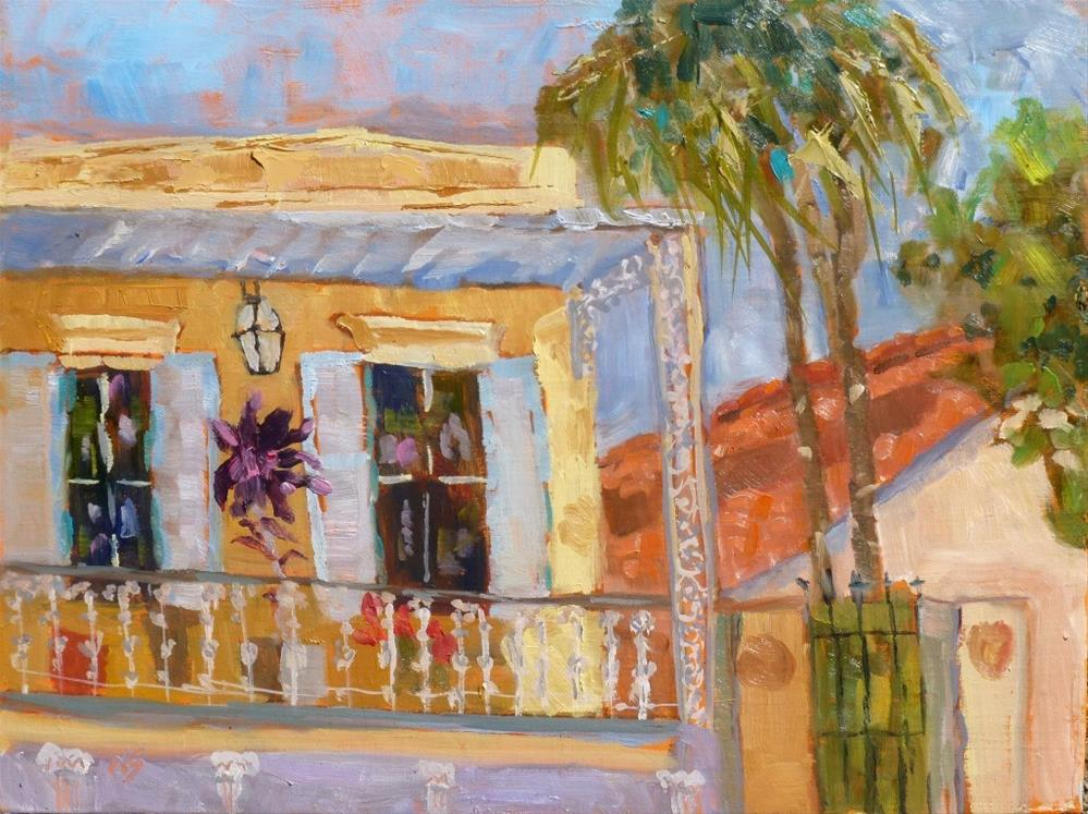 """New Orleans Esplanade 14062"" original fine art by Nancy Standlee"