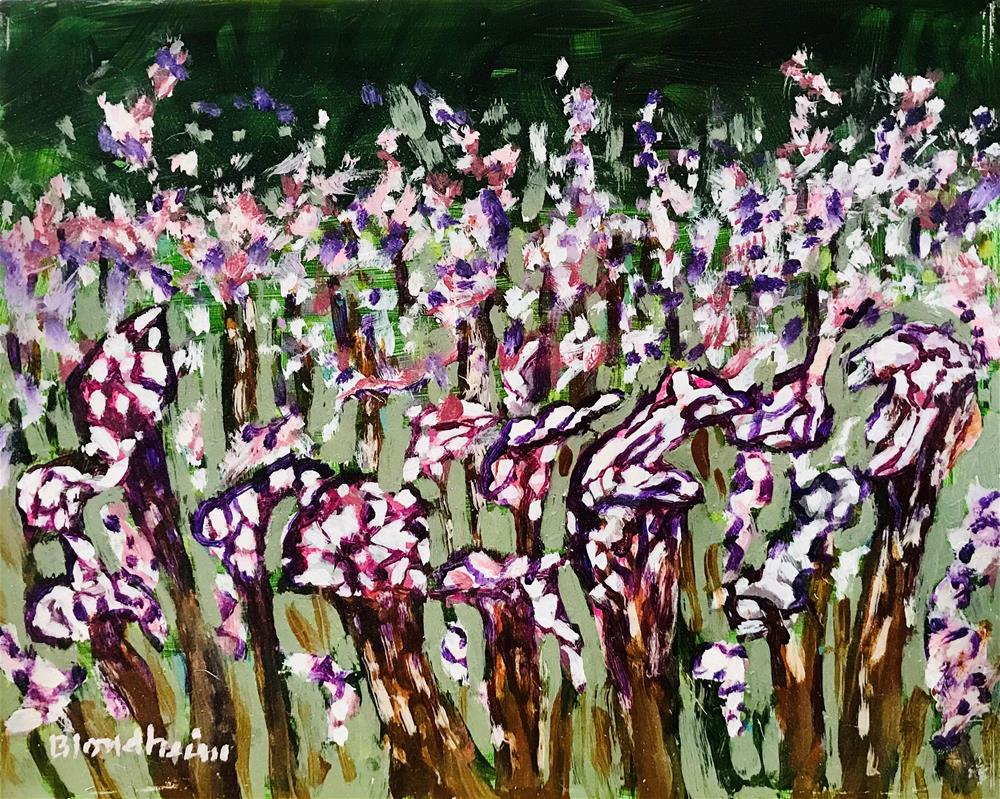 """Pitcher Plants"" original fine art by Linda Blondheim"