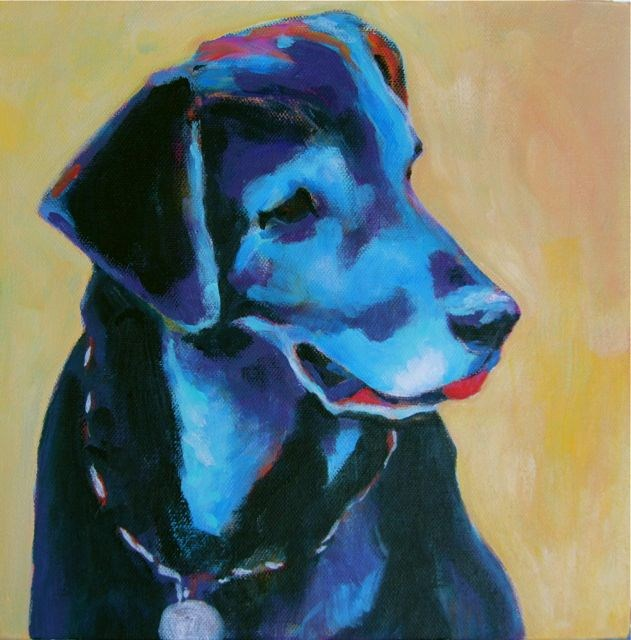 """Roxy"" original fine art by Patricia MacDonald"