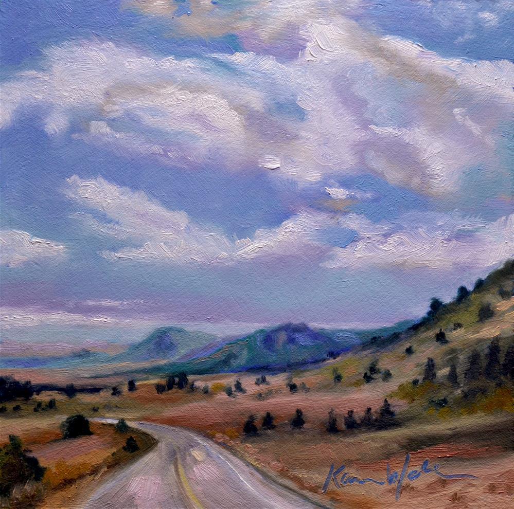 """Lake George, Colorado"" original fine art by Karen Weber"