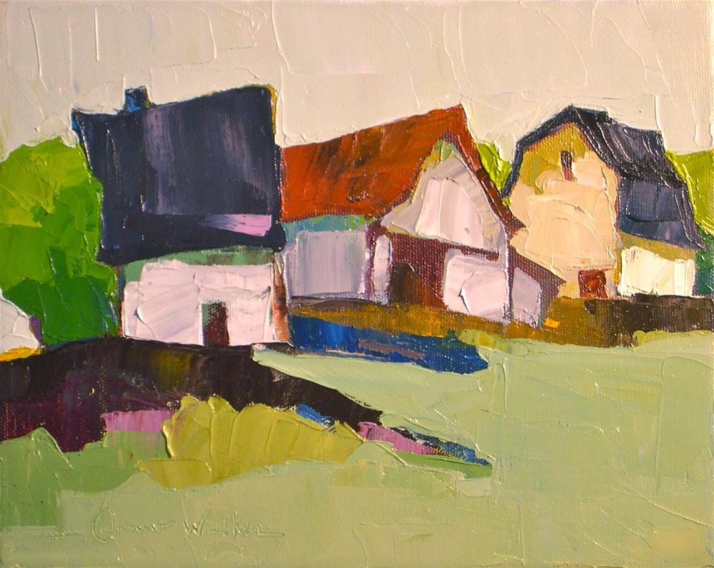 """Close Knit"" original fine art by Donna Walker"