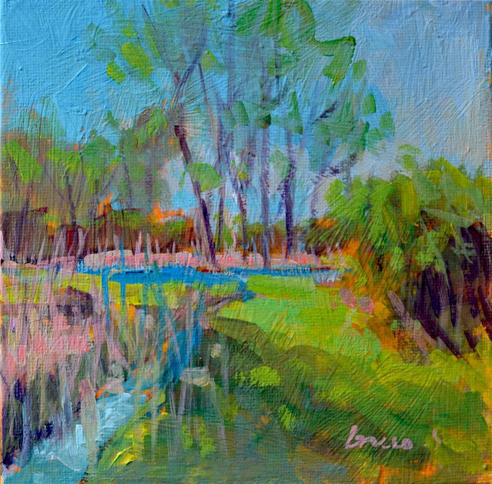 """in the marsh"" original fine art by salvatore greco"