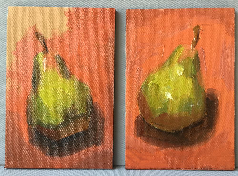 """Twin Pear Studies"" original fine art by Van DeGoede"