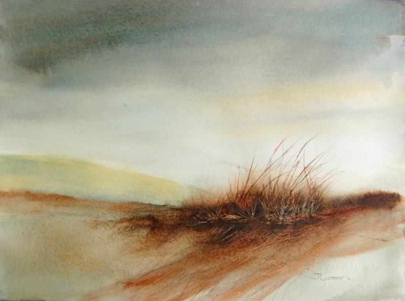 """""""Through The Haze"""" original fine art by Jean Lurssen"""