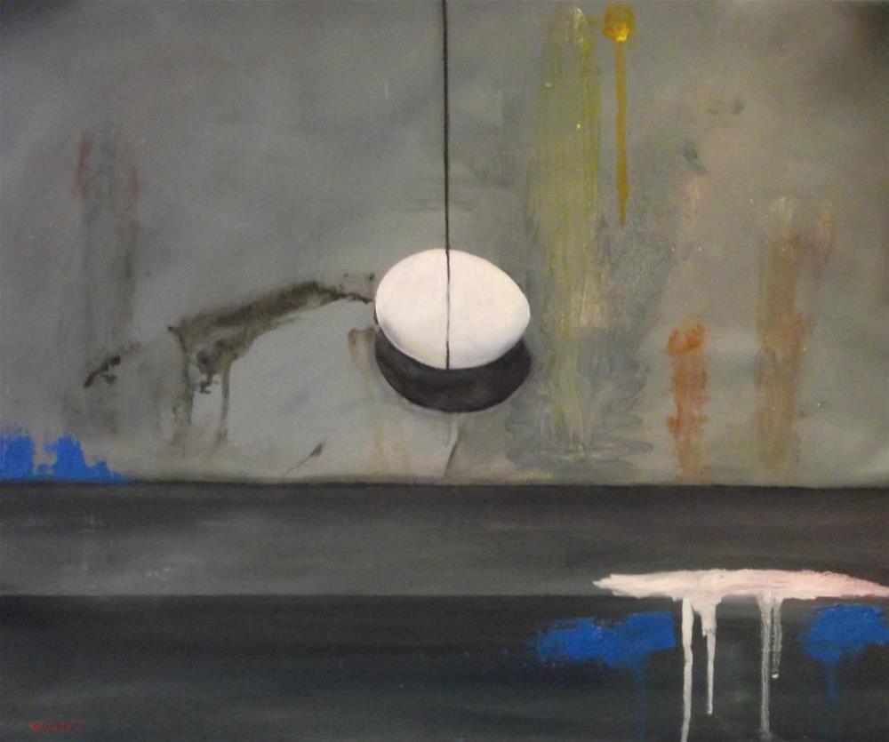"""Egg On String"" original fine art by Daniel Varney"