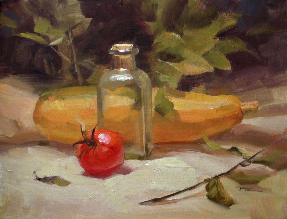 """From Our Garden"" original fine art by Richard Robinson"