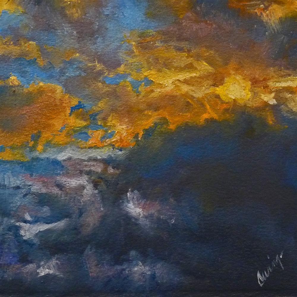 """Sky15"" original fine art by Sharman Owings"