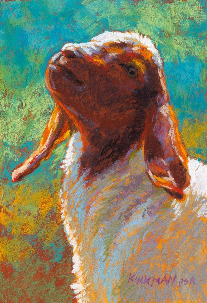 """Gumshu"" original fine art by Rita Kirkman"