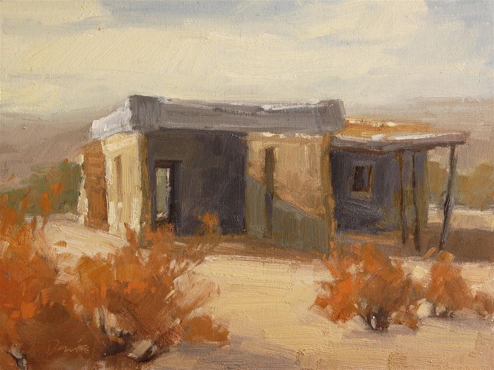 """Ghost Town Remnants"" original fine art by Laurel Daniel"
