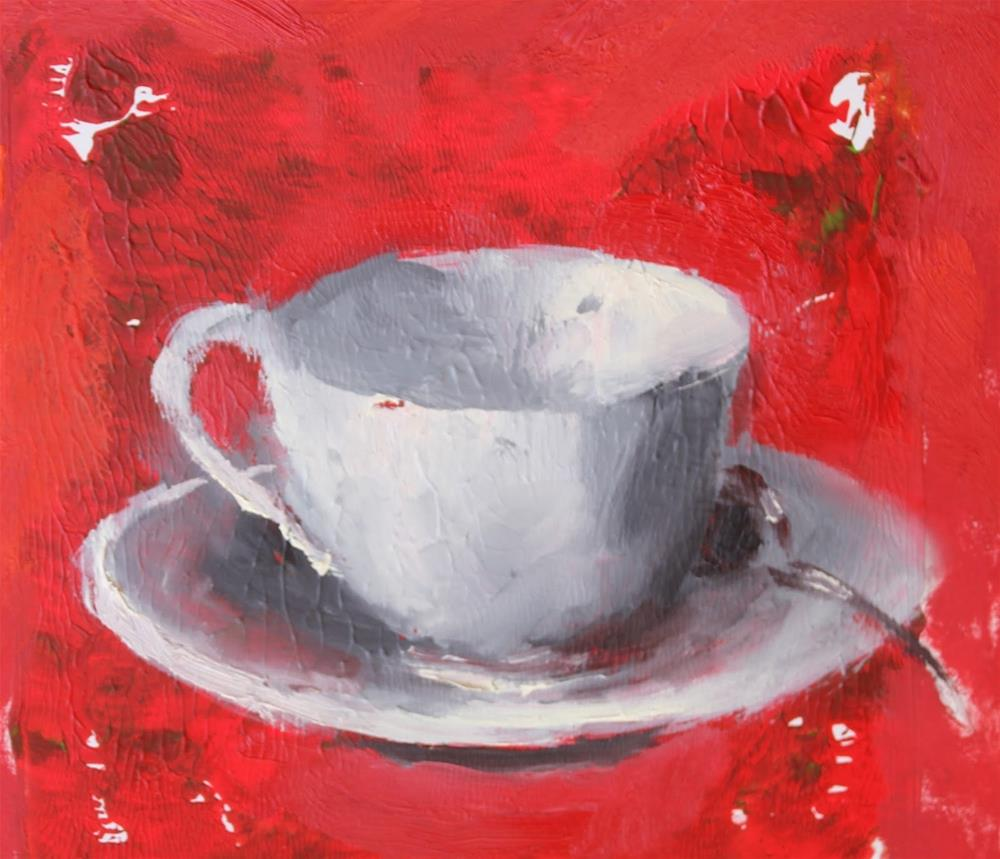"""Wake Up, Contemporary Still Life Paintings by Amy Whitehouse"" original fine art by Amy Whitehouse"
