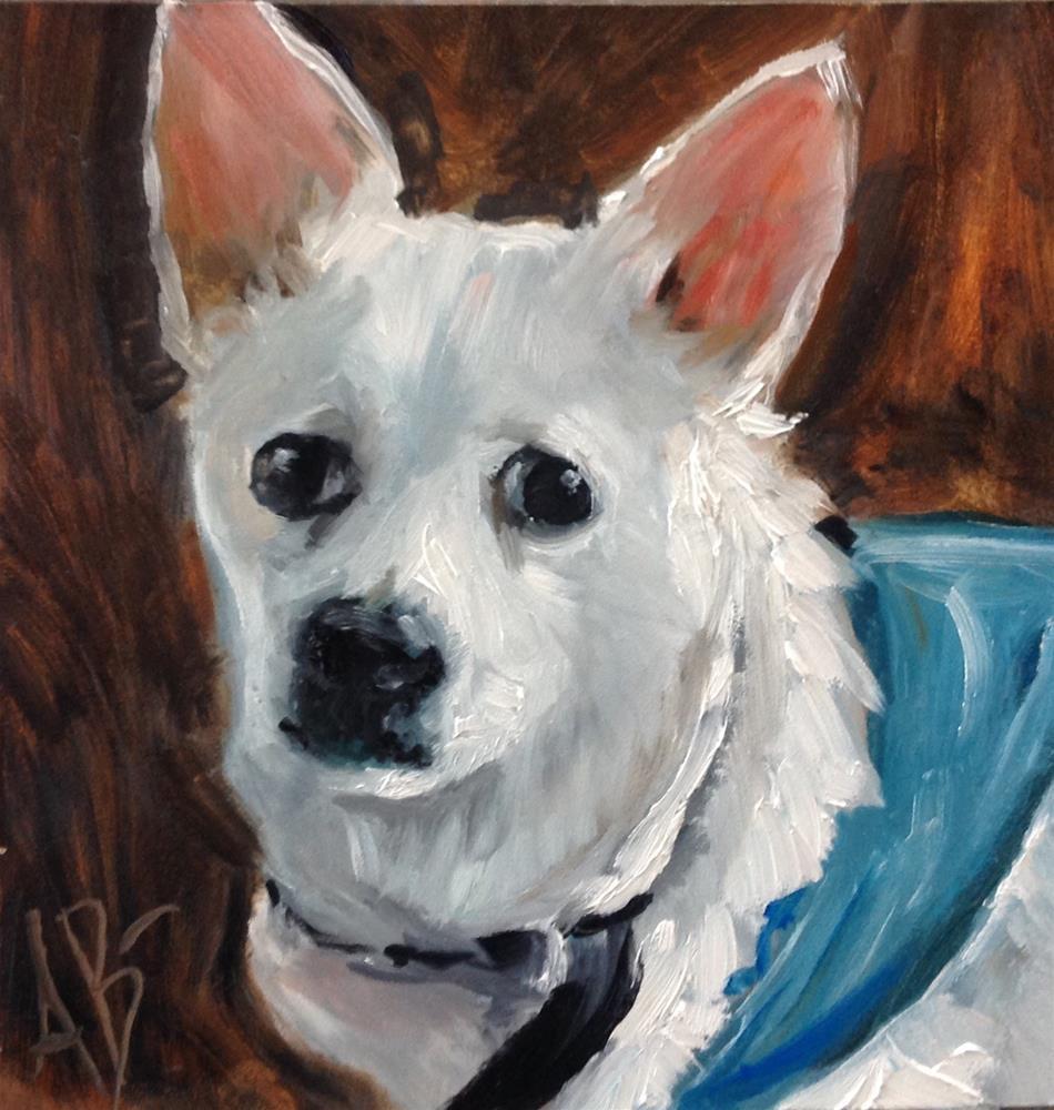 """""""Betty White"""" original fine art by Annette Balesteri"""