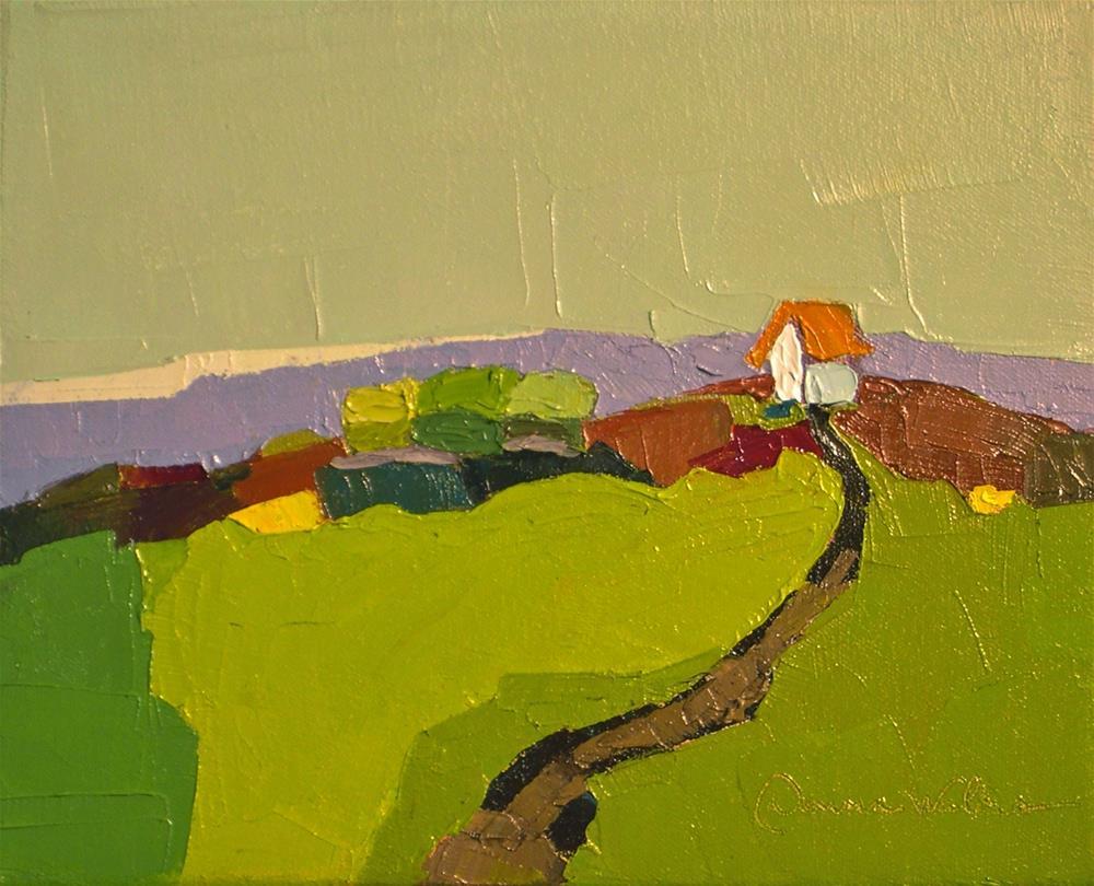 """Our Place"" original fine art by Donna Walker"