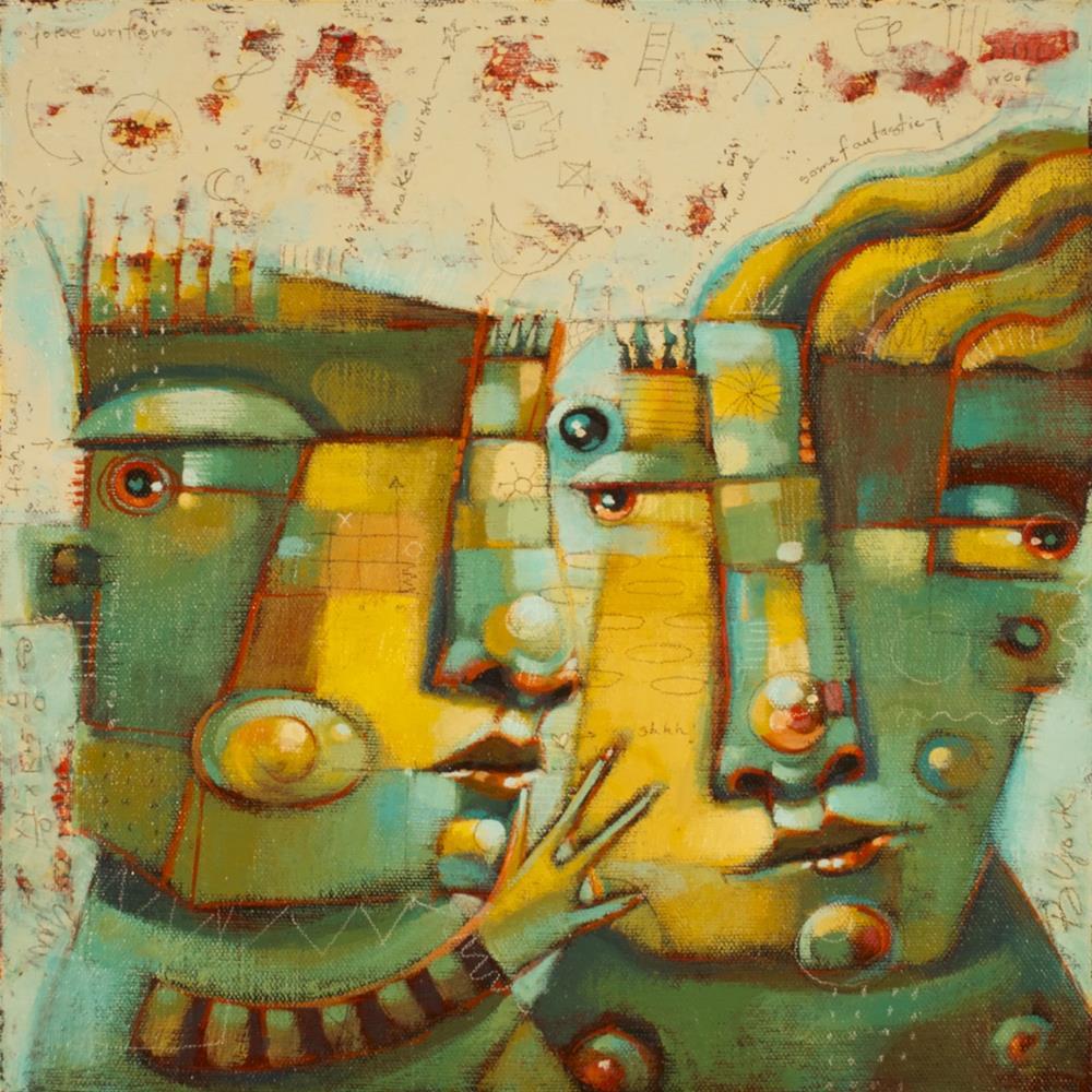 """""""Whisper"""" original fine art by Brenda York"""