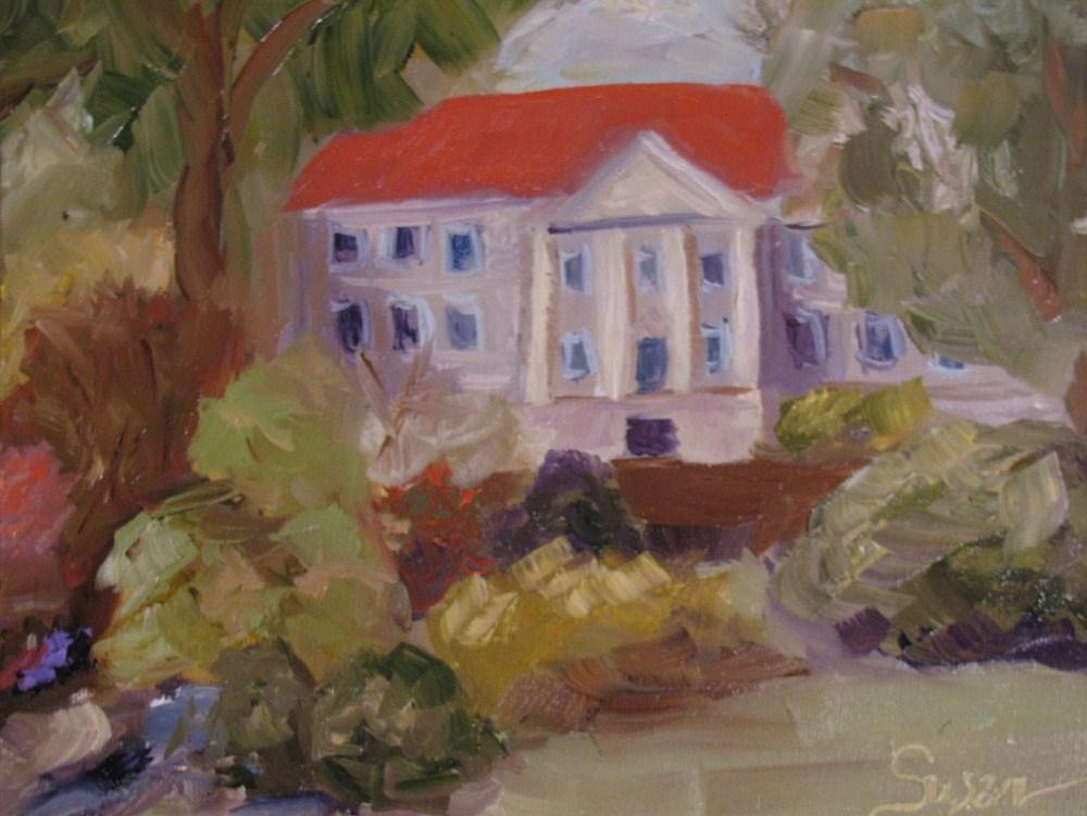 """Cheekwood in April"" original fine art by Susan Elizabeth Jones"