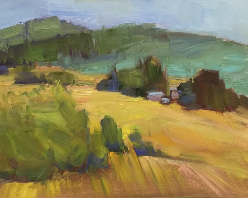 """""""The Hills Are Alive"""" original fine art by Patti McNutt"""