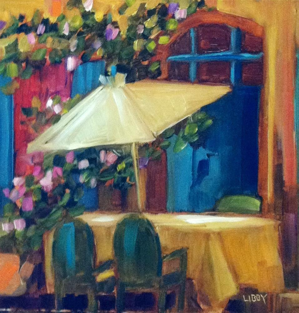 """Sunday Brunch"" original fine art by Libby Anderson"