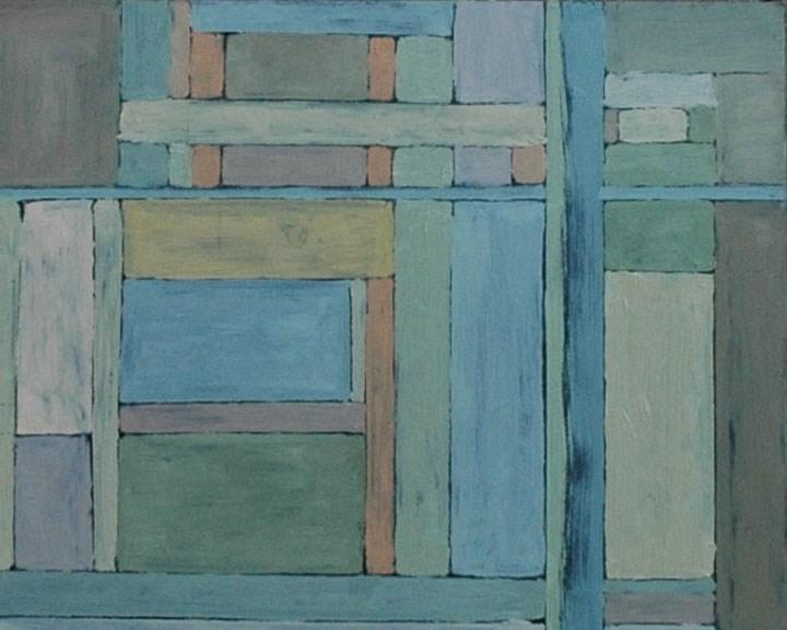 """WINDOWS"" original fine art by Linda Popple"