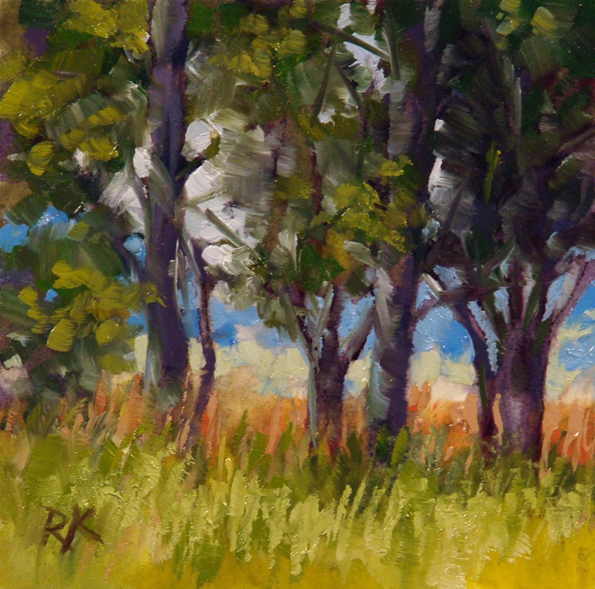 """""""Wind Break"""" original fine art by Rita Kirkman"""