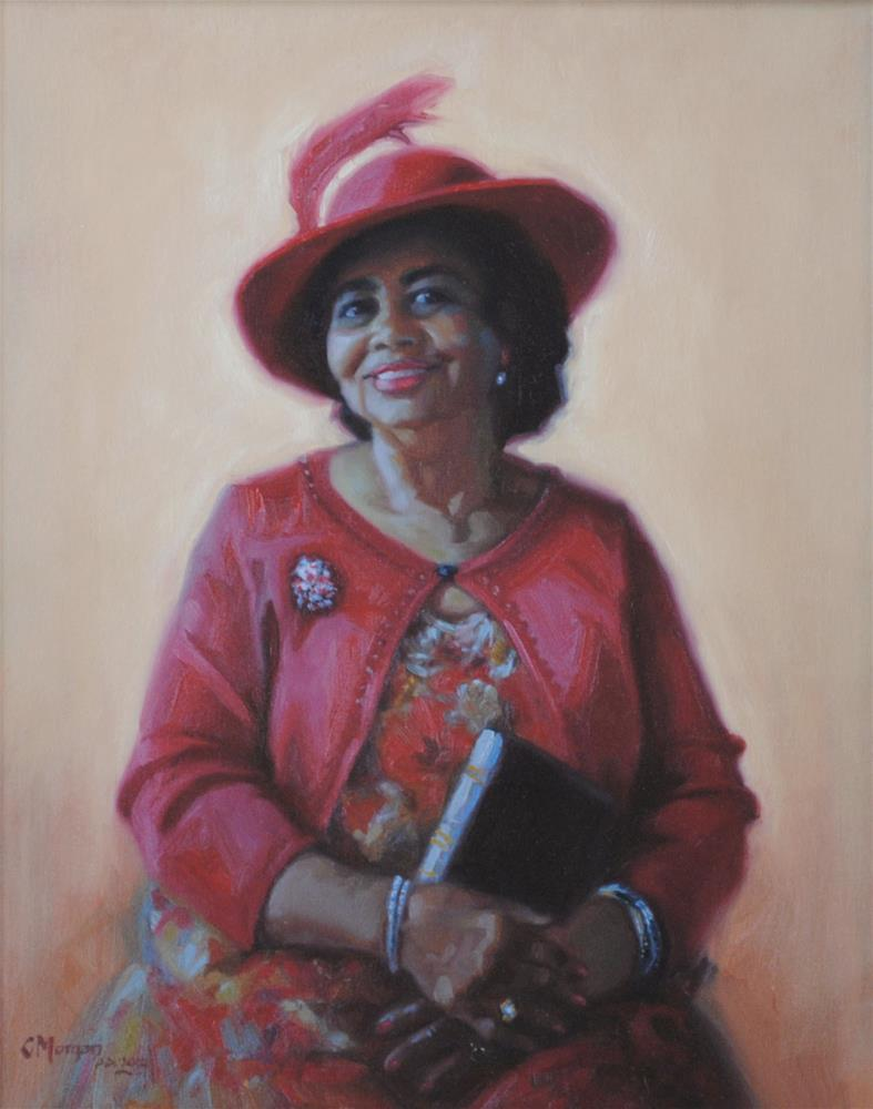 """The Matriarch"" original fine art by Cecile W. Morgan"