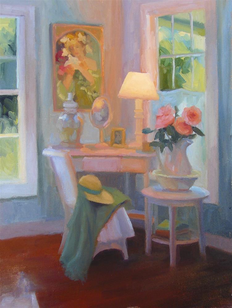 """Antique Shop Corner"" original fine art by Sherri Aldawood"