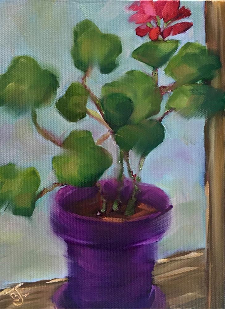 """First Bloom"" original fine art by Bobbie Cook"