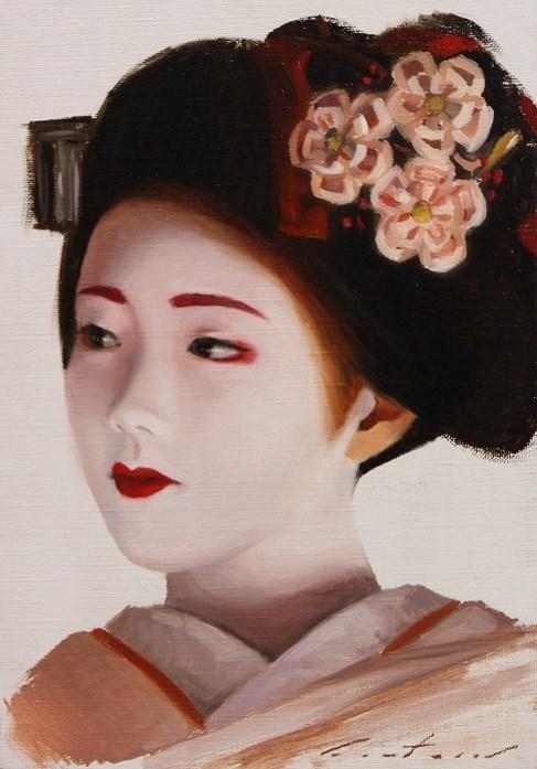 """Katsuna Study"" original fine art by Phil Couture"