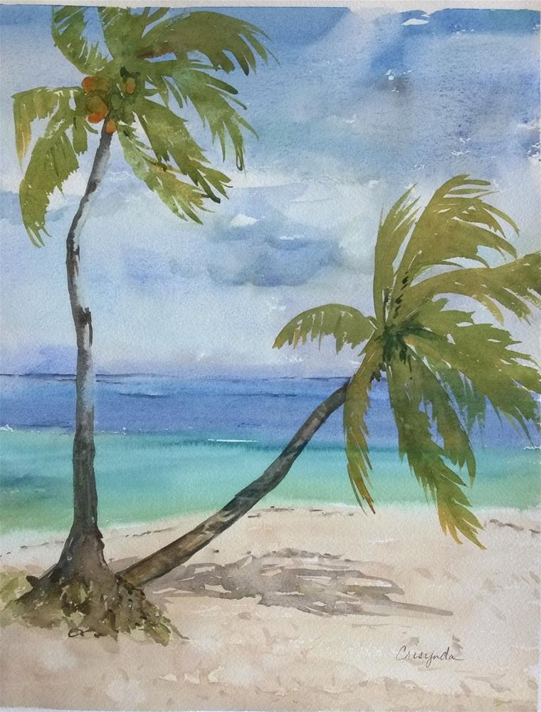 """Islands of Belize"" original fine art by Crisynda Buss"