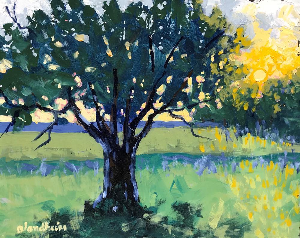 """Sale Painting Back Light"" original fine art by Linda Blondheim"