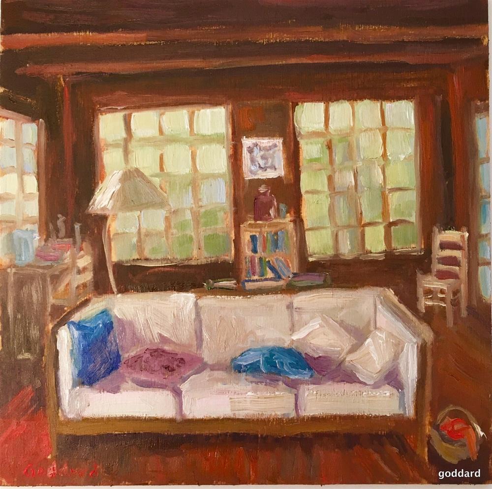 """Green Haven"" original fine art by Shari Goddard Shambaugh"
